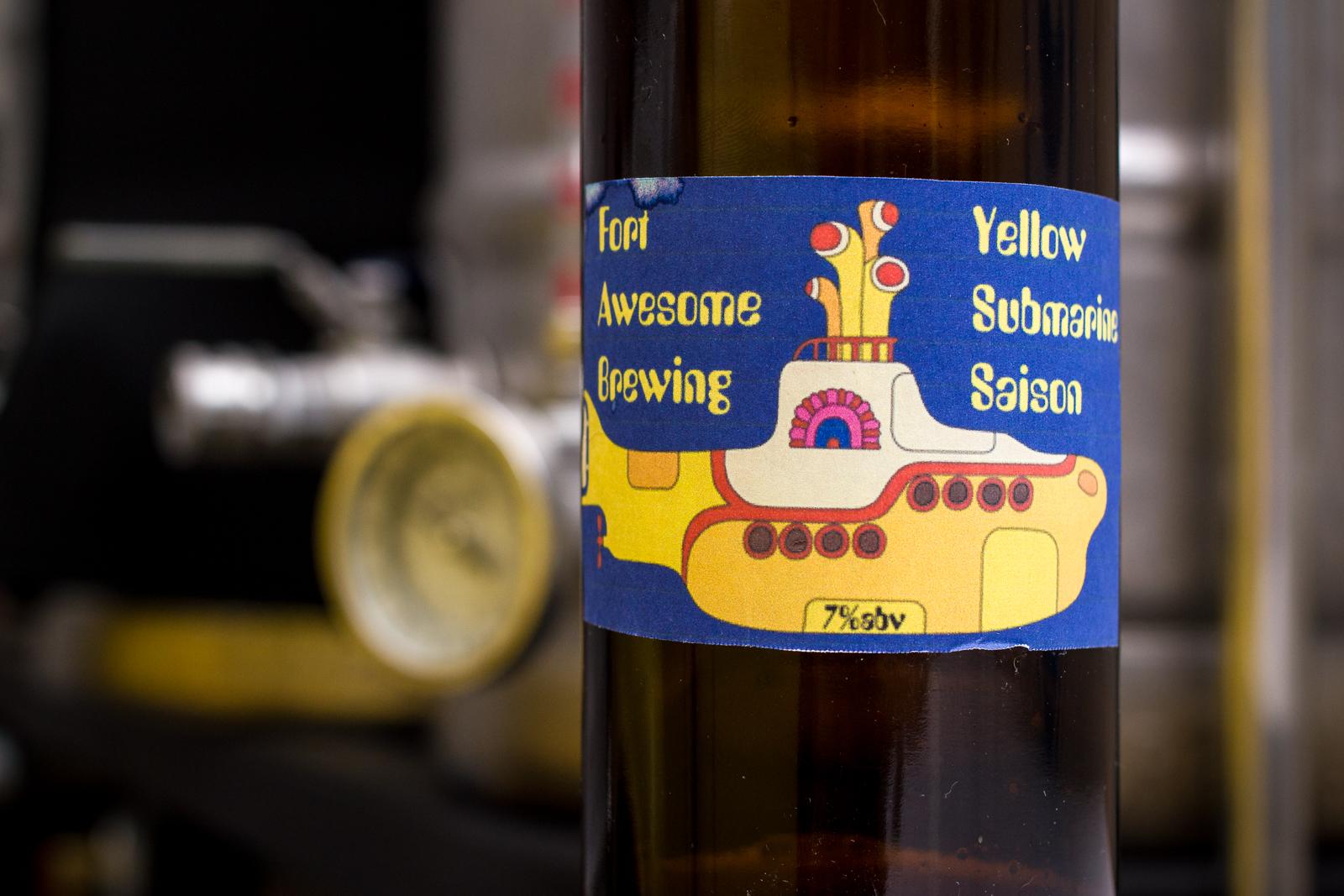 Greg Nagel's Yellow Submarine Saison