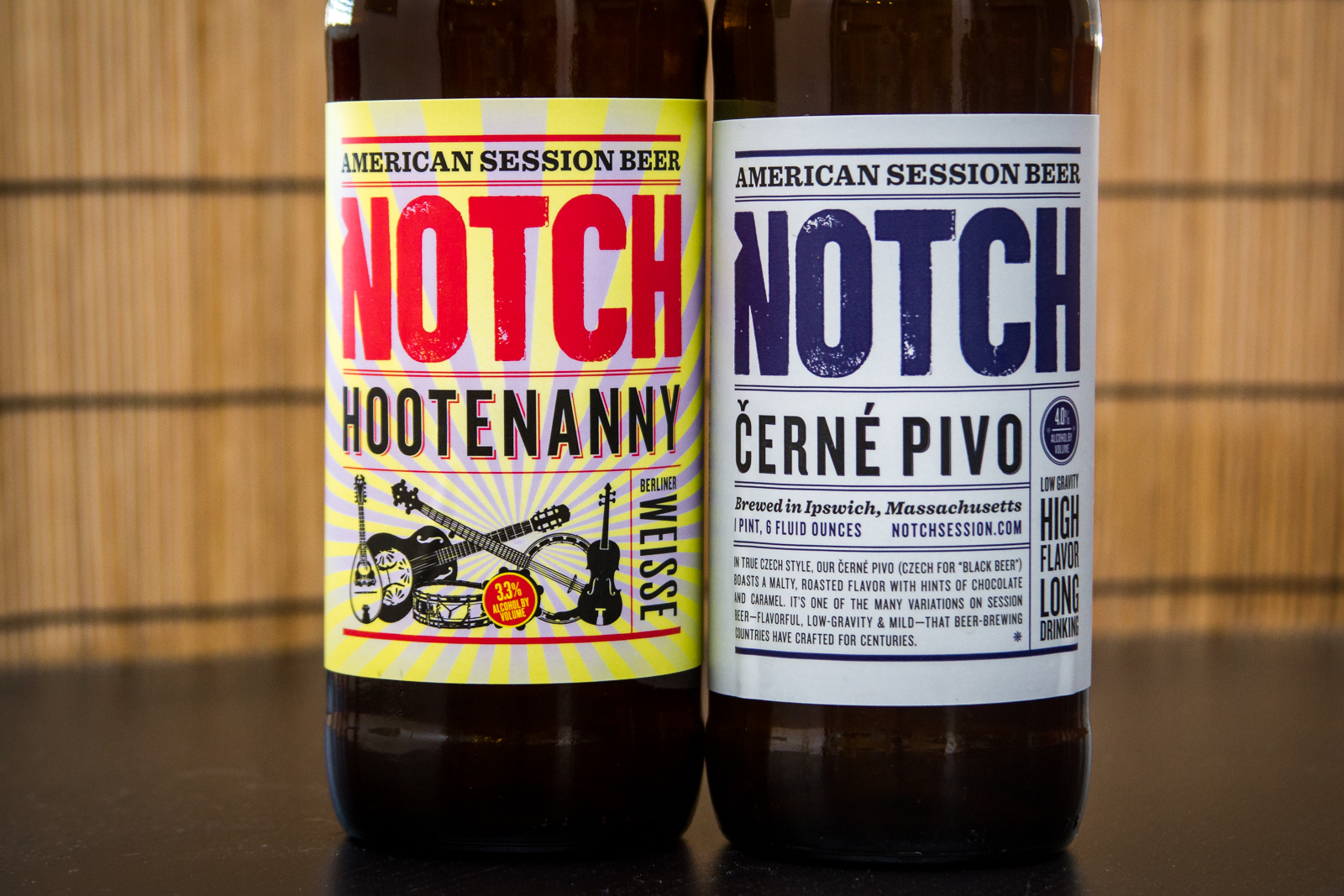 Notch Brewing Beers