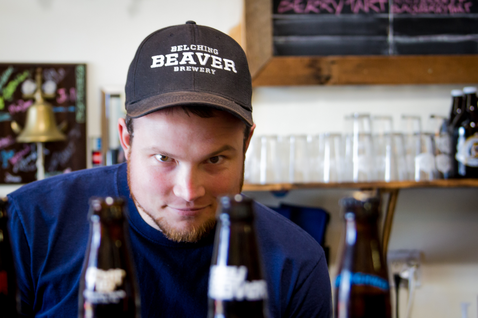 Sean Laidlaw, Brewer at Belching Beaver Brewery