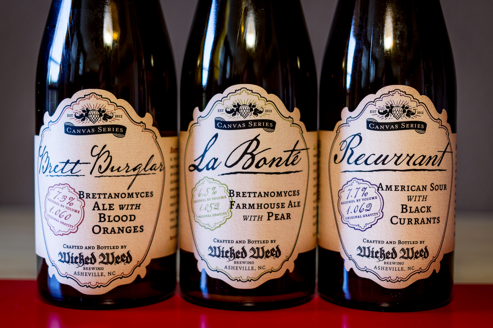 Wicked Weed Brewing Canvas Series