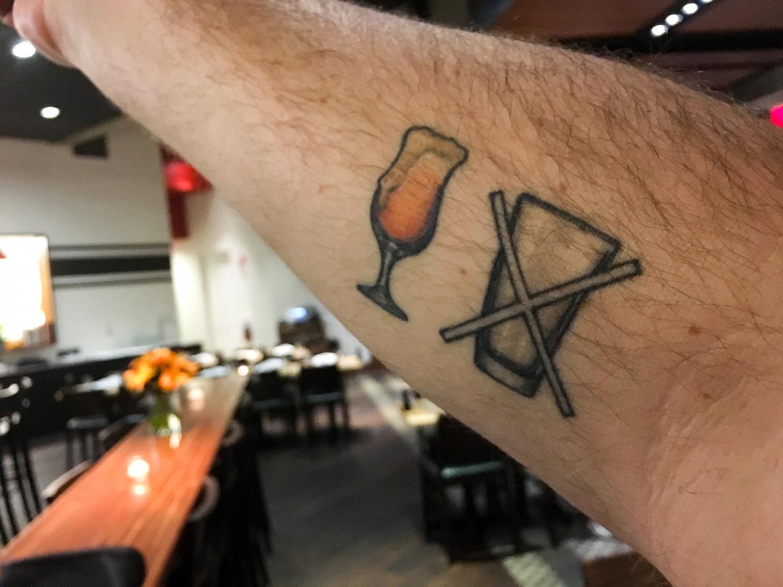 Tattoo: Jesse Friedman of Almanac Beer Co.