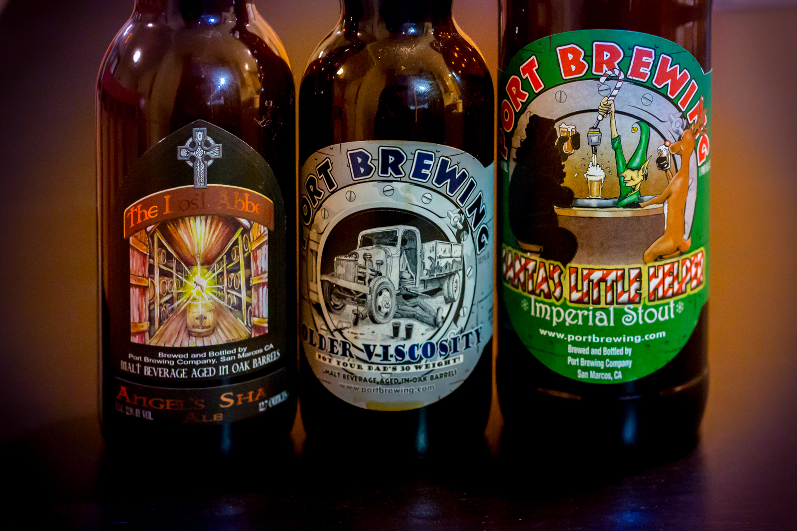 Port Brewing and Lost Abbey
