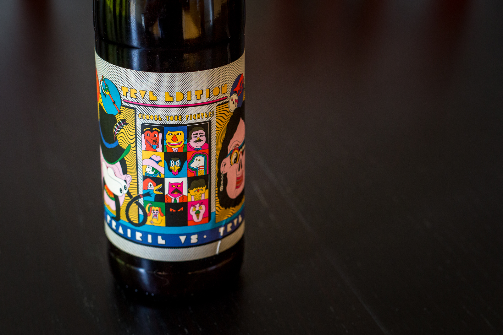 Prairie and Trve Collaboration Beer