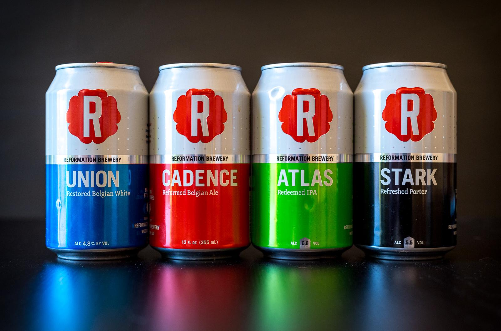 Reformation Brewery Beers
