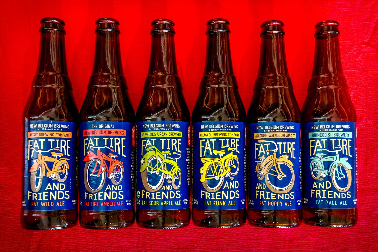 New Belgium Collabeeration Riff Pack