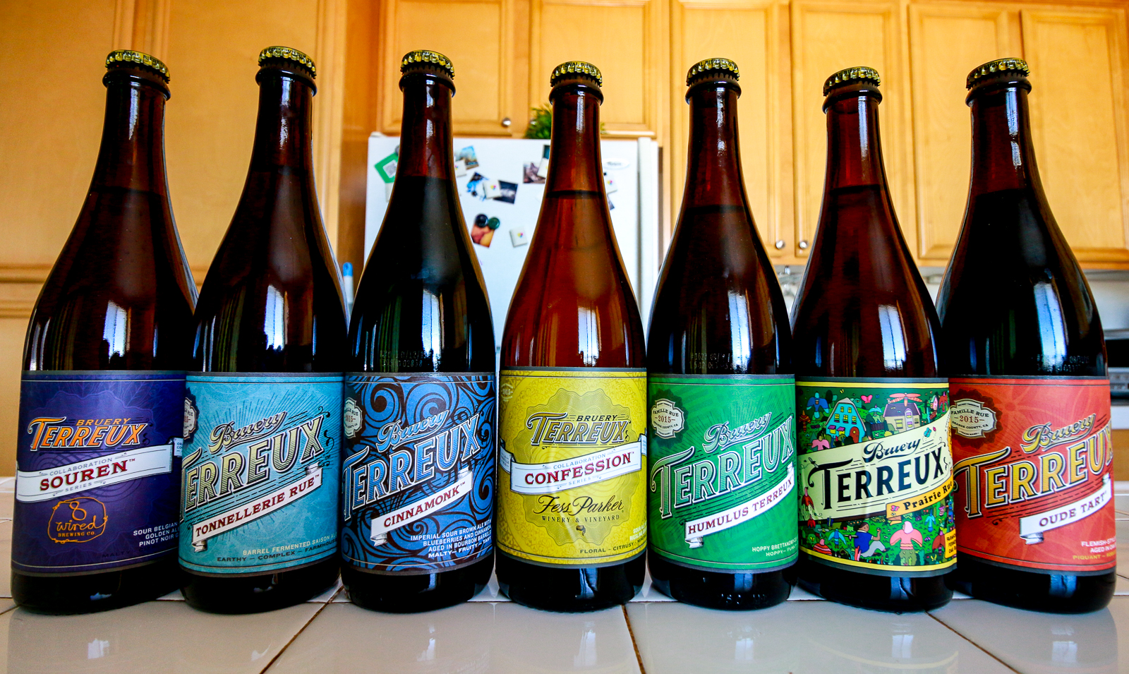 Beer from Bruery Terreux