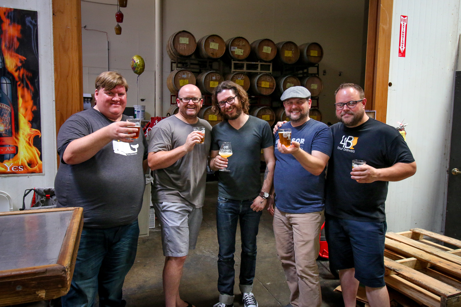 Four Brewers with Tomme Arthur