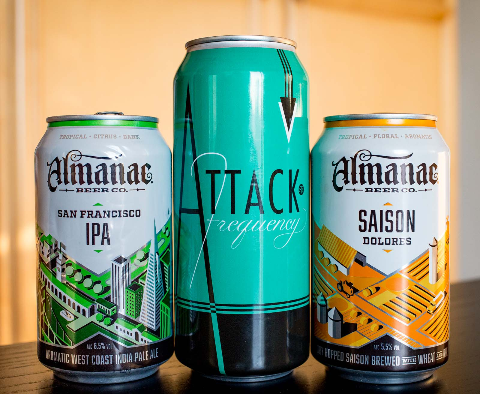 Beers from Almanac and Modern Times