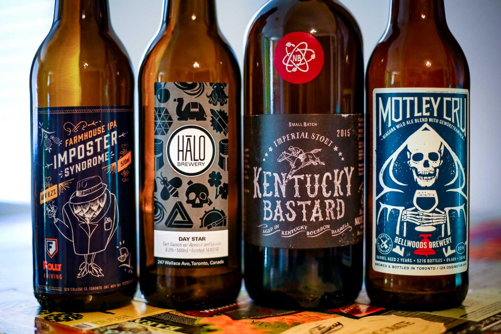 Canadian Craft Beers
