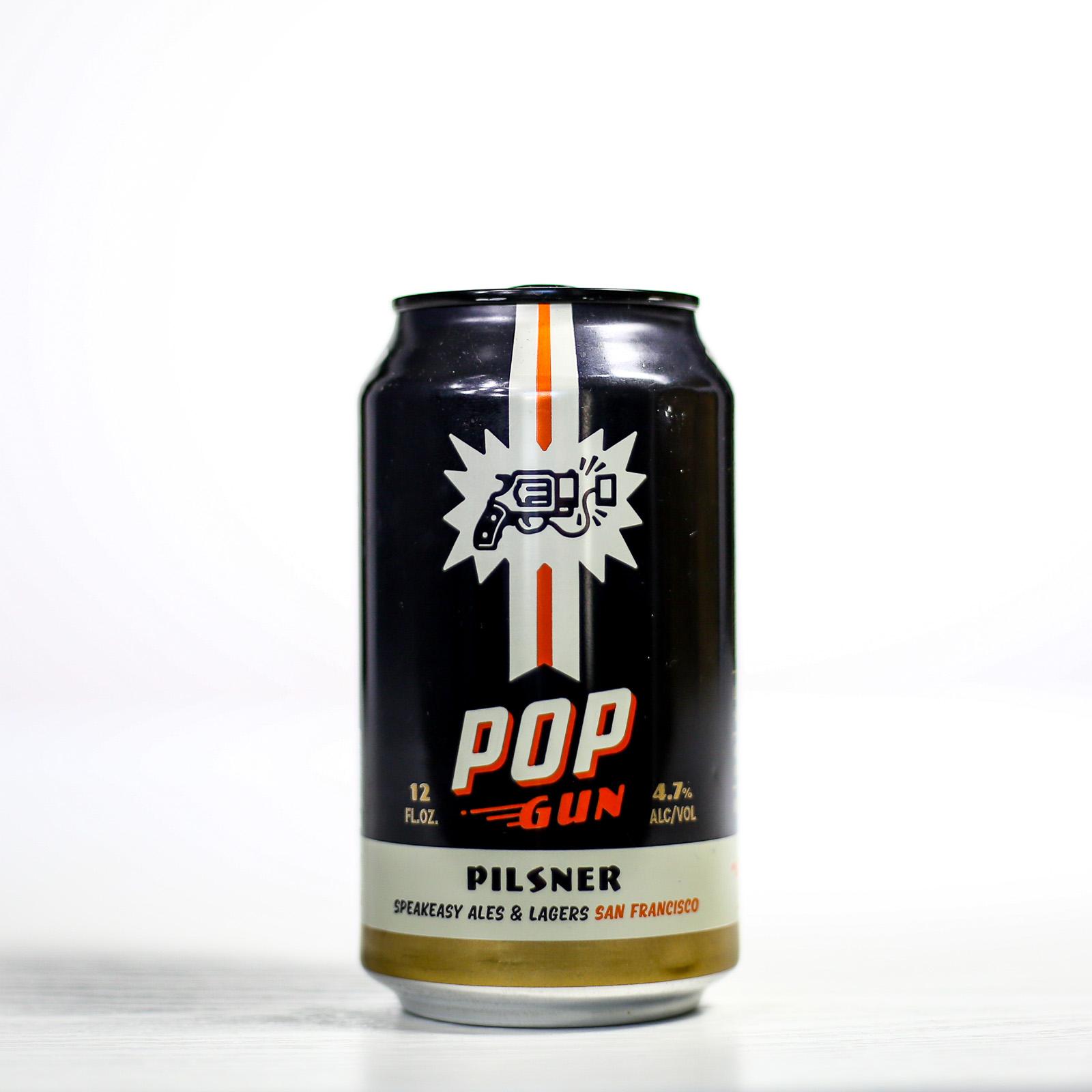 Speakeasy Ales & Lagers - Pop Gun Pilsner