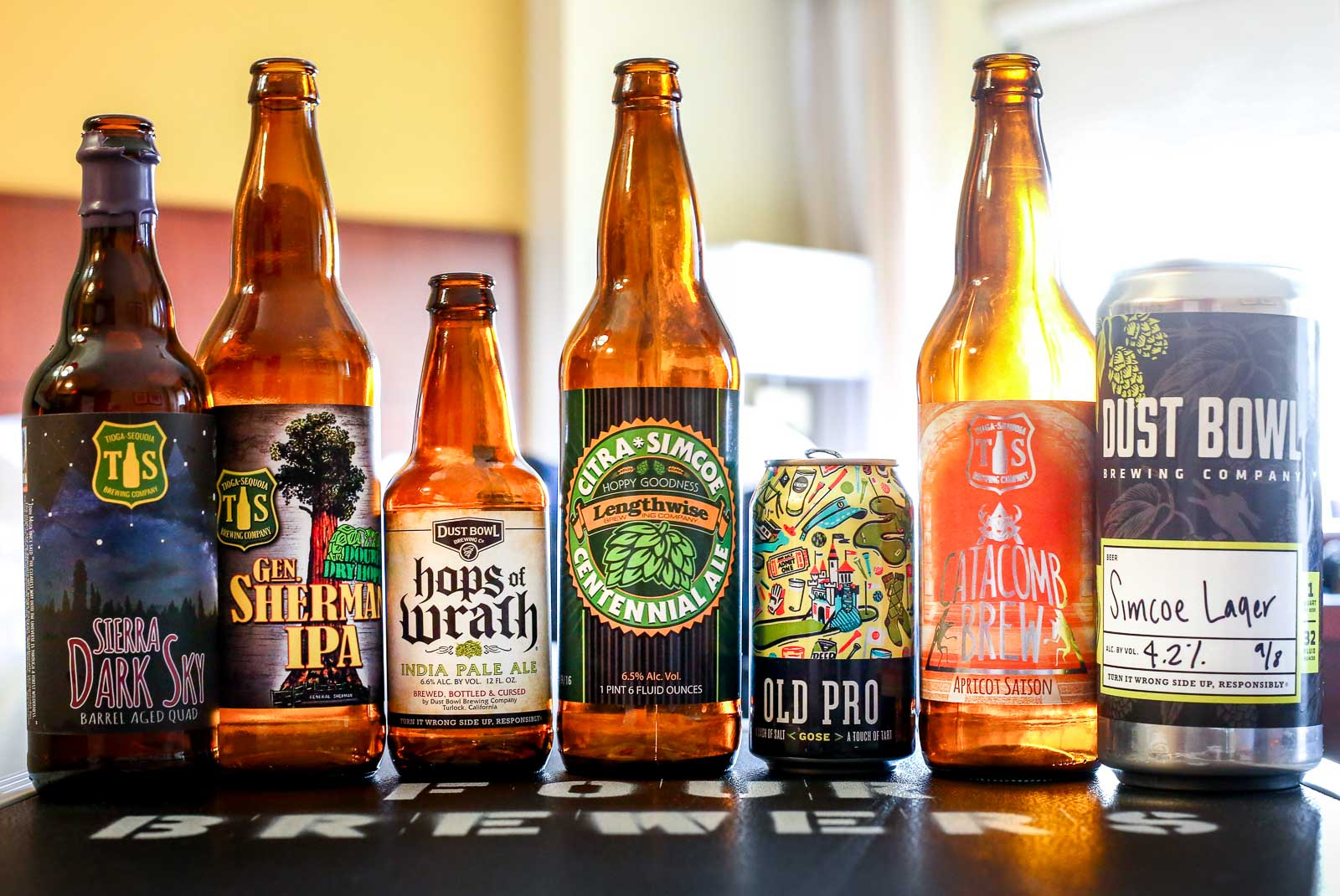 Beers from California