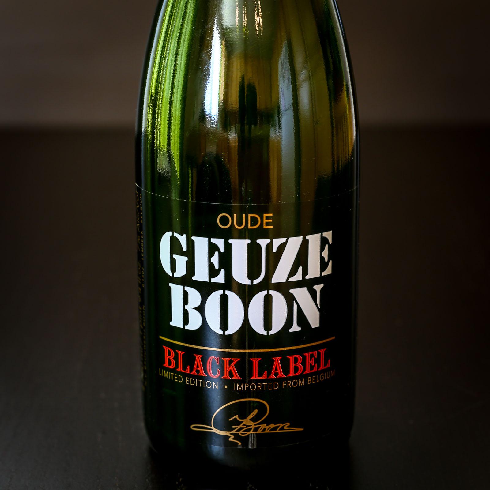 Brouwerij Boon - Oude Geuze Boon Black Label
