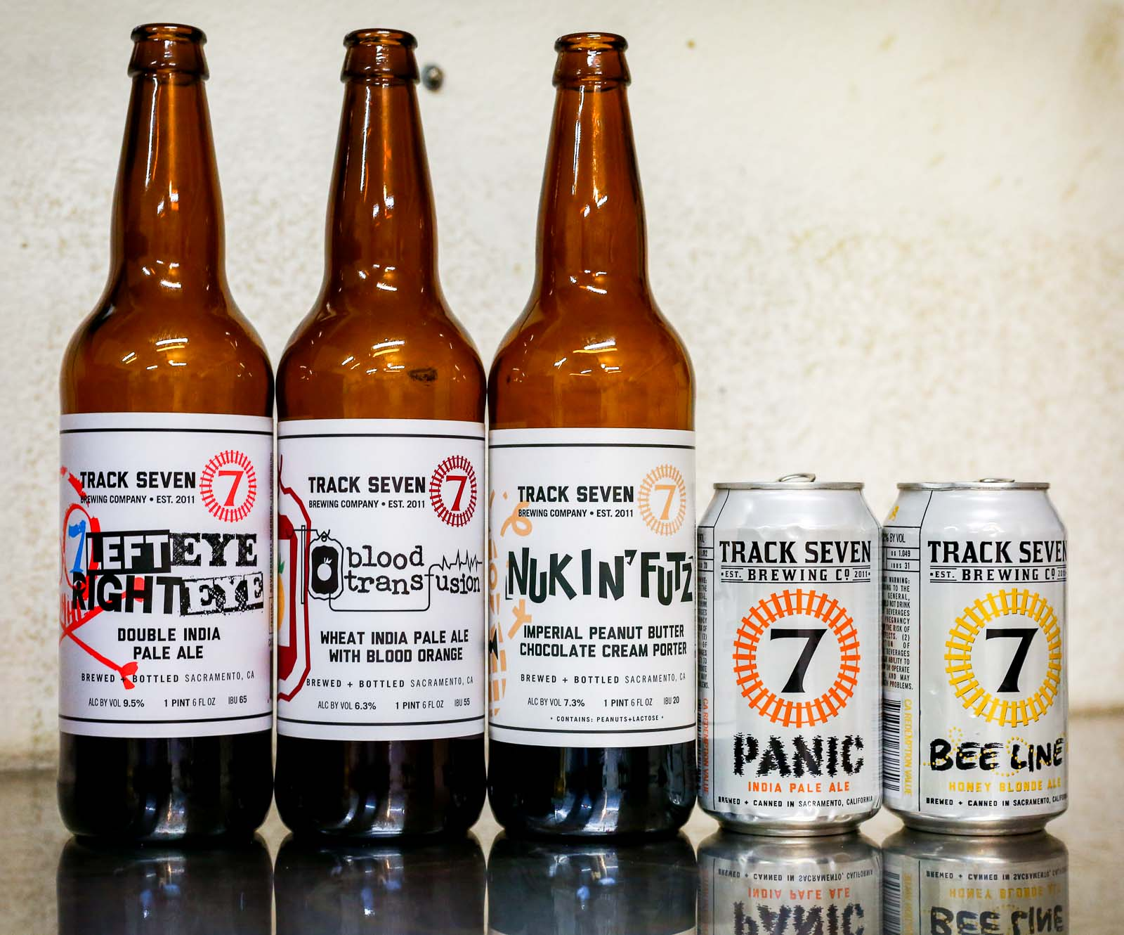 Track 7 Brewing Company Beers