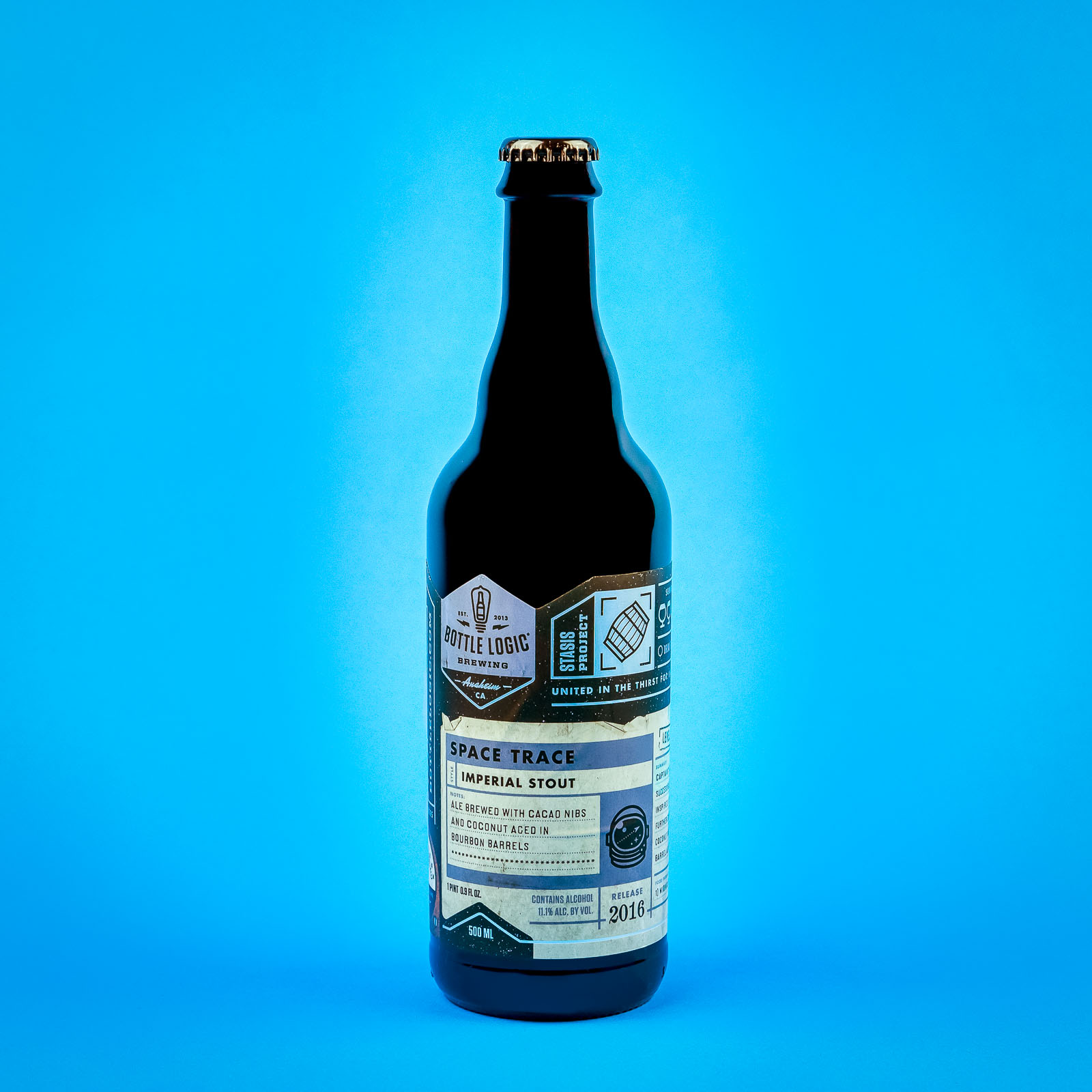 Bottle Logic Brewing - Space Trace (photo: Jessica Rice McNew)