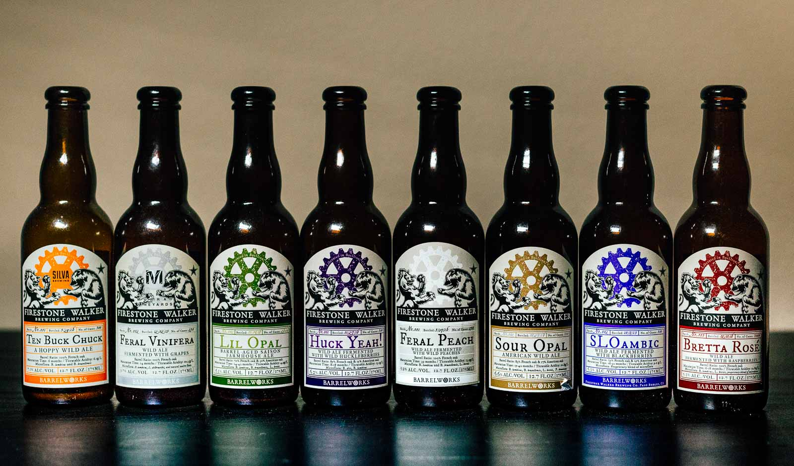 Firestone Walker Barrelworks Beers