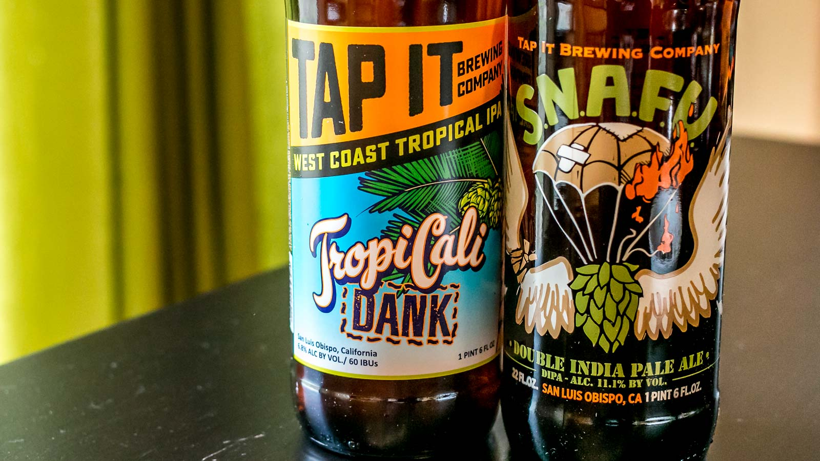 S.N.A.F.U. and TropiCali Dank IPA