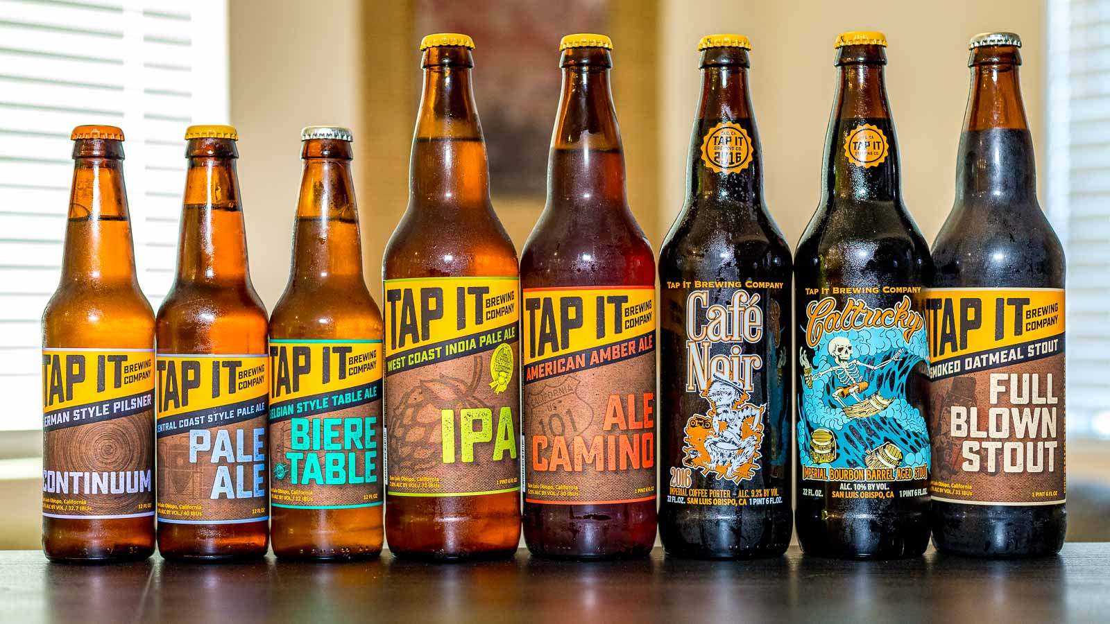 Tap It Brewing Co. Beers[