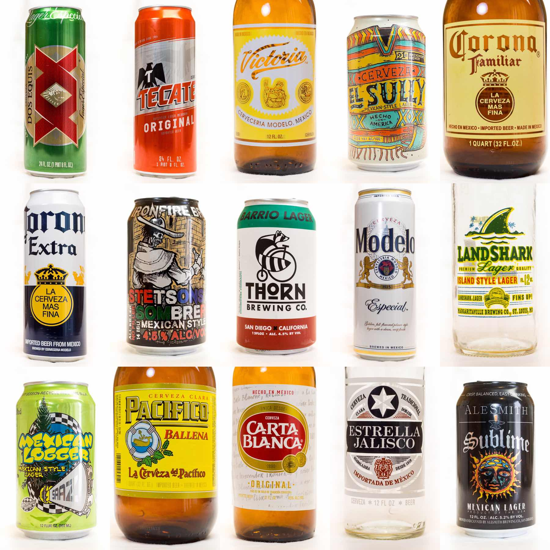 The Mexican Lager Showdown